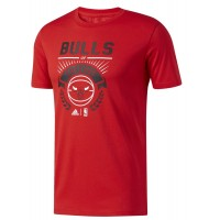 ΜΠΛΟΥΖΑ ADIDAS PERFORMANCE BULLS GRAPHIC TEE ΚΟΚΚΙΝΗ