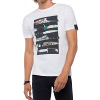 T-SHIRT REPLAY M3735 .000.2660 ΛΕΥΚΟ