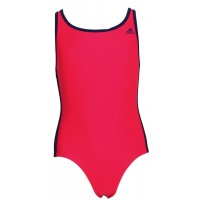 ΜΑΓΙΟ ADIDAS PERFORMANCE INFINITEX 3-STRIPES ONE PIECE ΡΟΖ