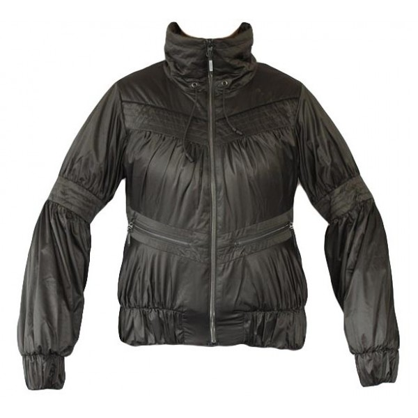 ΜΠΟΥΦΑΝ ADIDAS PERFORMANCE ADILIBRIA JACKET ΑΝΘΡΑΚΙ