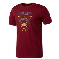 ΜΠΛΟΥΖΑ ADIDAS PERFORMANCE CAVALIERS GRAPHIC TEE ΒΥΣΣΙΝΙ