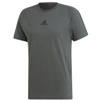 ΜΠΛΟΥΖΑ ADIDAS PERFORMANCE MH 3-STRIPES TEE ΓΚΡΙ