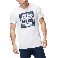 T-SHIRT TIMBERLAND KENNEBEC PATTERN TREE CA1LMRK76  ΛΕΥΚΟ