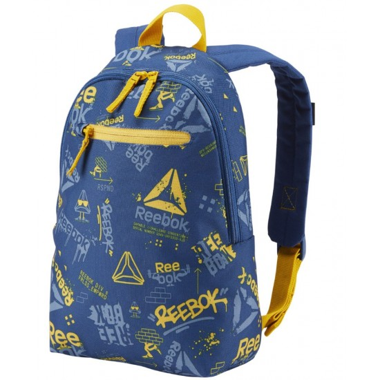 42473567c7 ΤΣΑΝΤΑ ΠΛΑΤΗΣ REEBOK KIDS SMALL GRAPHIC BACKPACK ΜΠΛΕ