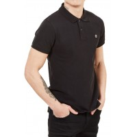T- SHIRT POLO TIMBERLAND MILLERS RIVER PQUE TB0A1S4J ΜΑΥΡΟ