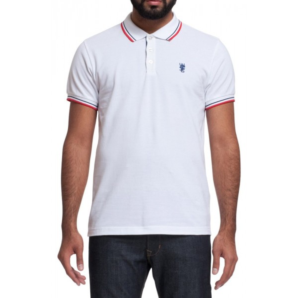 T-SHIRT POLO WESC ANTARCTIC ΛΕΥΚΟ