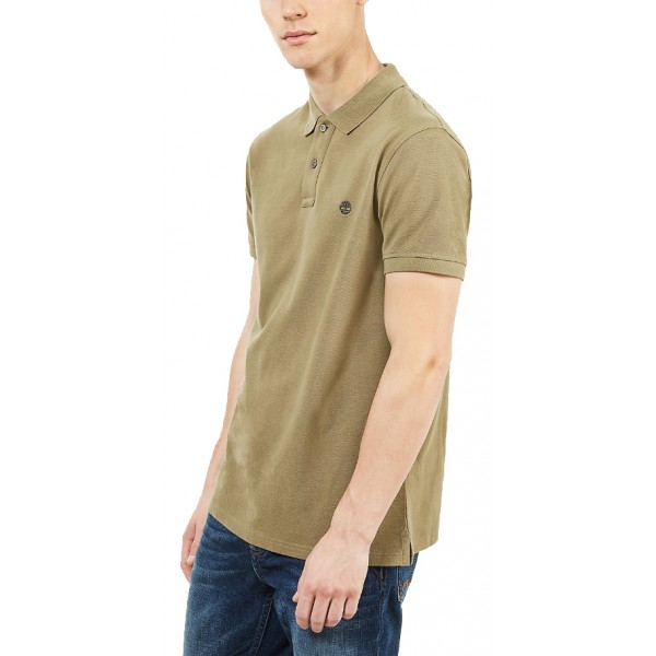 T- SHIRT POLO TIMBERLAND MILLERS RIVER PQUE TB0A1S4J ΛΑΔΙ