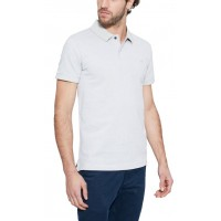 T-SHIRT POLO TIMBERLAND SOLID OXFORD CA1INW051 ΑΝΟΙΧΤΟ ΓΚΡΙ