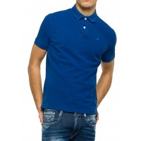 T-SHIRT POLO REPLAY M3537A.000.22450V ΜΠΛΕ ΡΟΥΑ