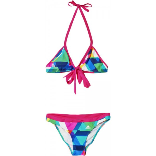 ΜΑΓΙΟ ADIDAS PERFORMANCE ALL OVER PRINT BIKINI ΡΟΖ/ΜΠΛΕ