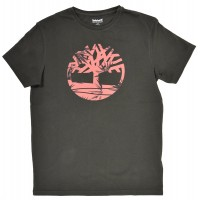 T-SHIRT TIMBERLAND KENNEBEC RIVER SEASONAL TB0A1O6B ΣΚΟΥΡΟ ΚΑΦΕ