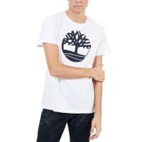 T-SHIRT TIMBERLAND KENNEBEC RIVER TREE LOGO TB0A1L60 ΛΕΥΚΟ