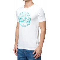 T-SHIRT TIMBERLAND MULTI BADGE CA1LAZ130 ΕΚΡΟΥ