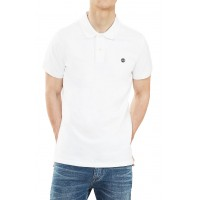 T- SHIRT POLO TIMBERLAND MILLERS RIVER PQUE TB0A1S4J ΛΕΥΚΟ