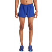 ΣΟΡΤΣ SAUCONY ENDORPHIN SPLIT SHORTS ΜΠΛΕ