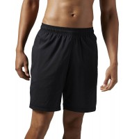 ΣΟΡΤΣ REEBOK SPORT ELEMENTS POLY SHORT ΜΑΥΡΟ