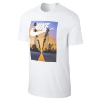 ΜΠΛΟΥΖΑ NIKE SPORTSWEAR SUNSET PALM TEE ΛΕΥΚΗ