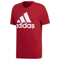 ΜΠΛΟΥΖΑ ADIDAS PERFORMANCE ESSENTIALS LINEAR TEE ΚΟΚΚΙΝΗ