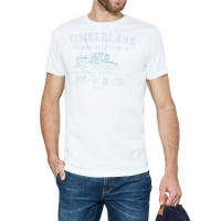 T-SHIRT TIMBERLAND NAUTICAL CA1S21100 ΛΕΥΚΟ