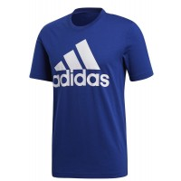 ΜΠΛΟΥΖΑ ADIDAS PERFORMANCE ESSENTIALS LINEAR TEE ΜΠΛΕ