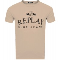 T-SHIRT REPLAY BLUE JEANS M3723 .000.2660 ΜΠΕΖ