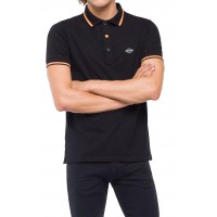 T-SHIRT POLO REPLAY M3685A.000.20623 ΜΑΥΡΟ