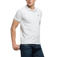 T-SHIRT POLO REPLAY M3195S.000.21868 ΛΕΥΚΟ
