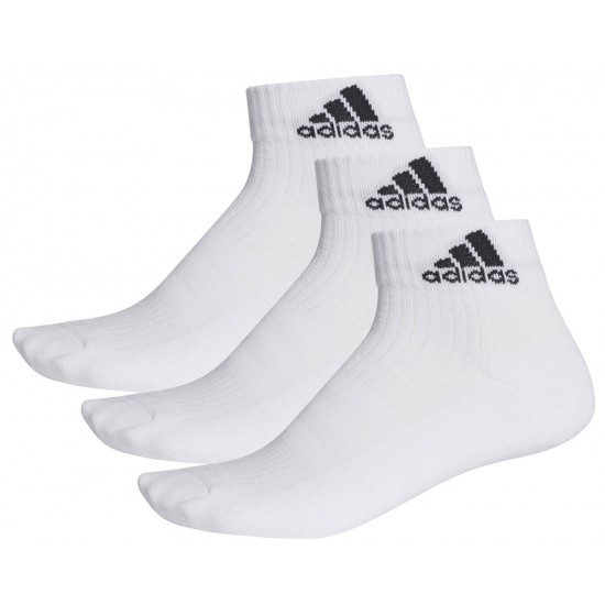 ΚΑΛΤΣΕΣ ADIDAS PERFORMANCE 3-STRIPES ANKLE SOCKS 3P ΛΕΥΚΕΣ 95392e8bda9