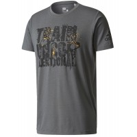 ΜΠΛΟΥΖΑ ADIDAS PERFORMANCE UNCONVENTIONAL TEE ΓΚΡΙ